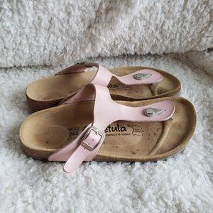 Birkenstock Betula Light Pink Gizeh Sandals sz 7